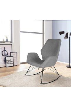 homexperts schommelstoel grijs