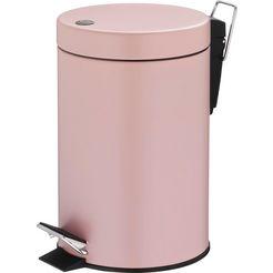 tom tailor tissue-emmer »shiny stripes« roze