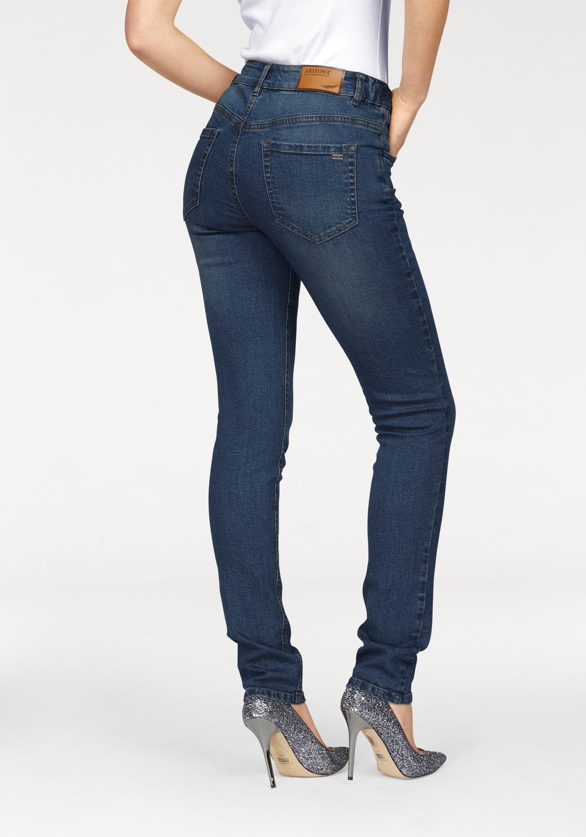 ARIZONA slim fit jeans »Svenja - band met elastiek-inzet opzij« - verschillende betaalmethodes