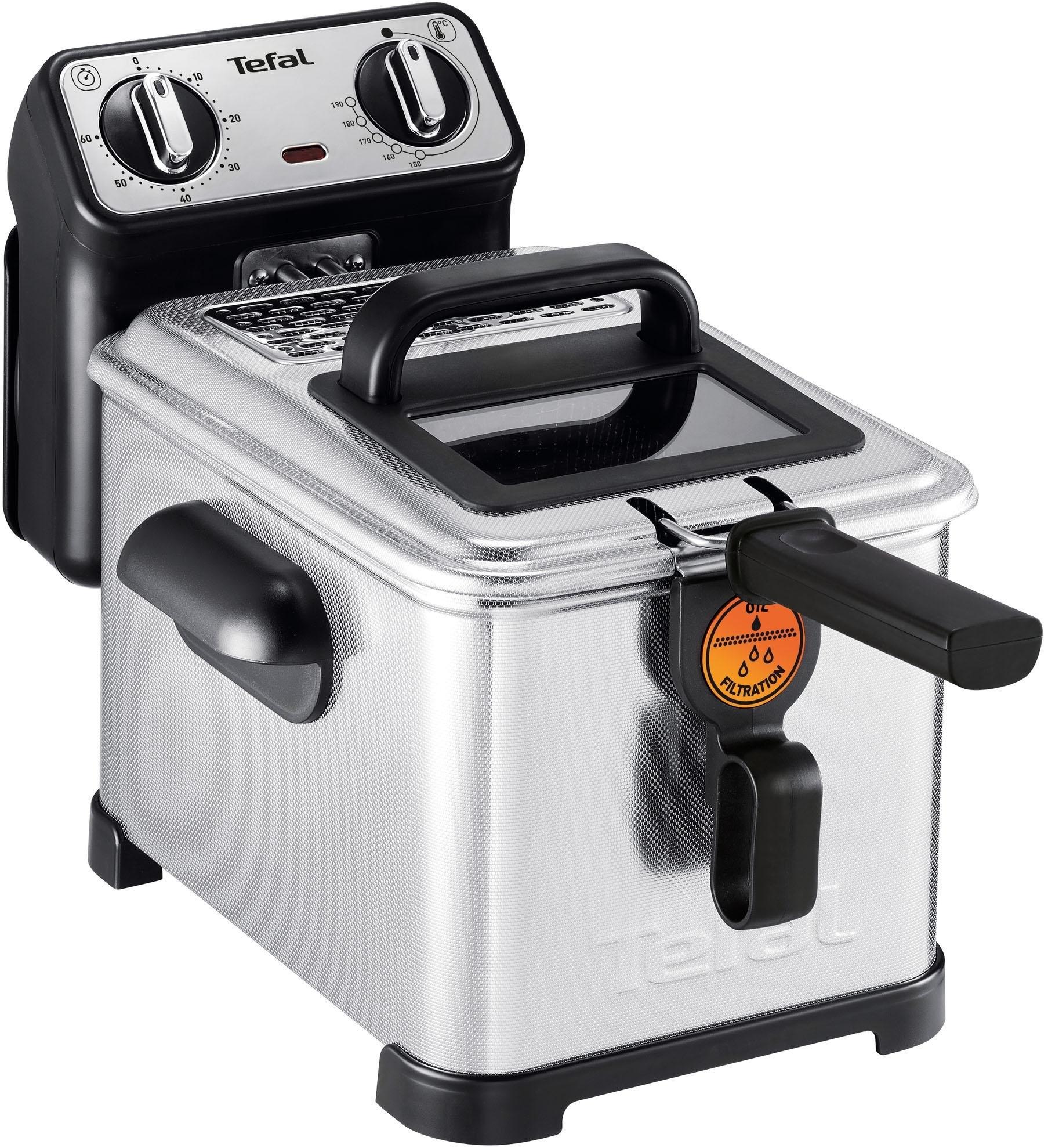 Op zoek naar een Tefal friteuse Filtra Pro Inox and Design FR5101 Inhoud 1,2 kg? Koop online bij OTTO