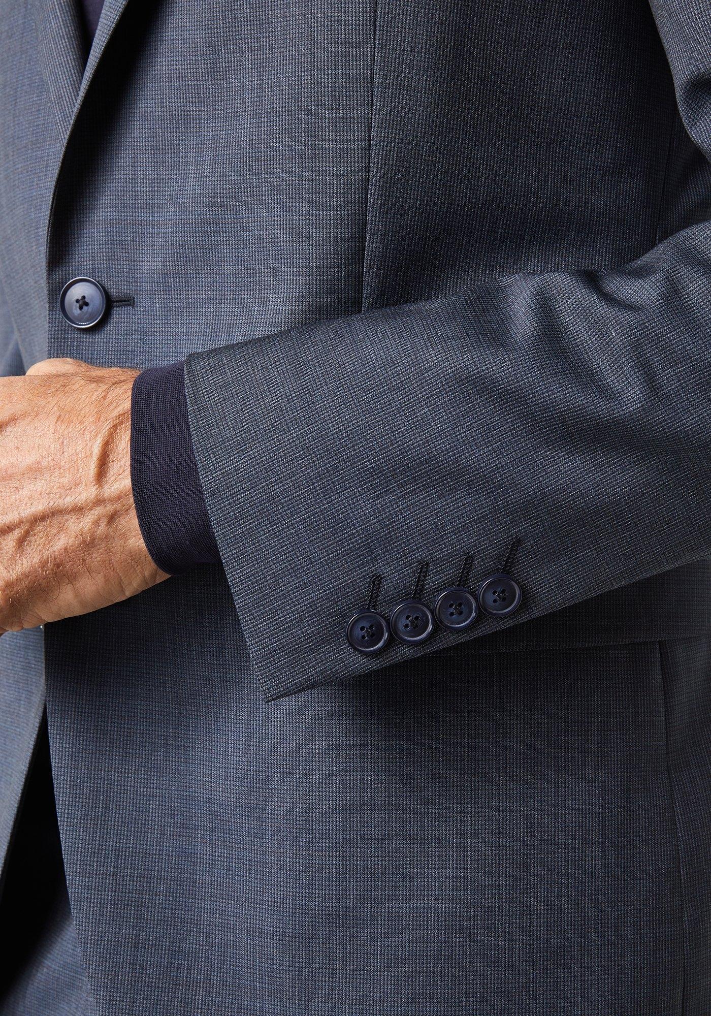 Pierre Cardin Kostuum met klein patroon - slim fit »Bernar Ryan« voordelig en veilig online kopen