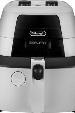 de'longhi airfryer idealfry fh 2133 multicooker met 4-in-1 functie, ook voor broodbakken, inhoud 1,25 kg wit