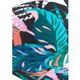 venice beach bandeau-bikinitop smash zwart