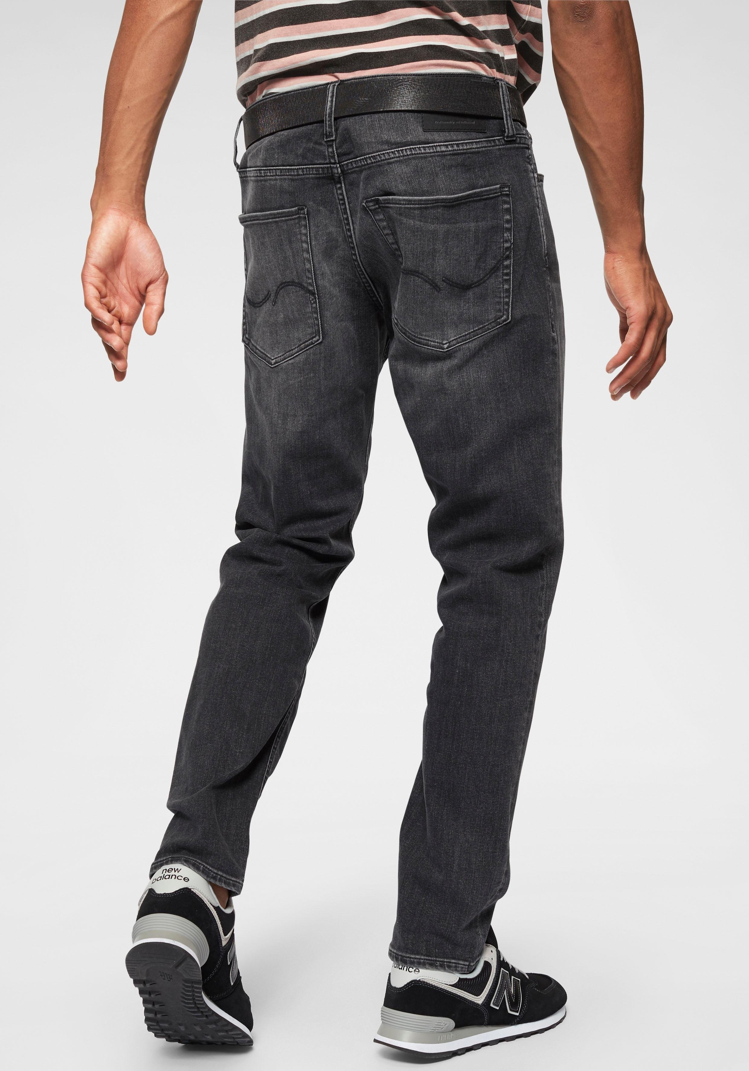 b48791d8f9a2ad ... Bruno Banani straight jeans »Hutch«, G-Star straight-jeans, Wrangler  bootcutjeans »Jacksville«