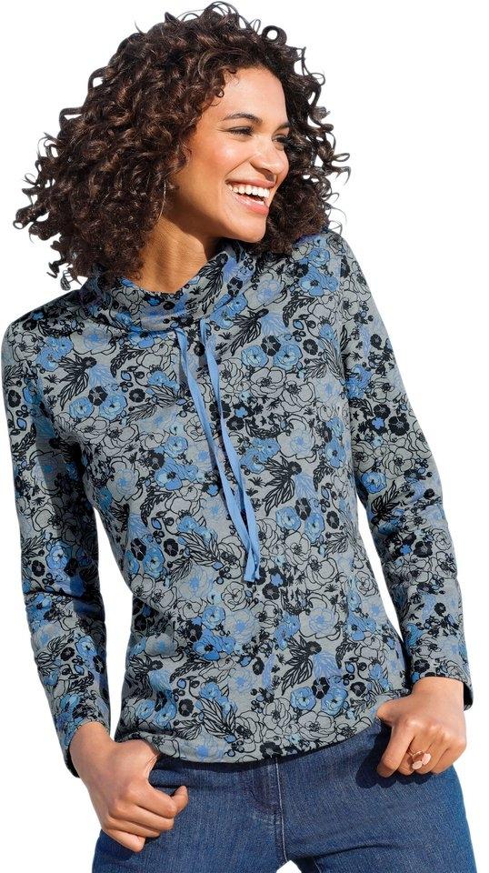 Op zoek naar een Classic Basics sweatshirt met speels bloemdessin? Koop online bij OTTO