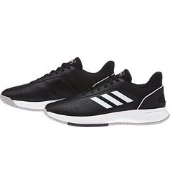 adidas wandelschoenen »courtsmash« zwart