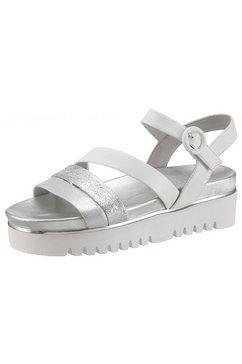 tizian shoes plateausandalen wit