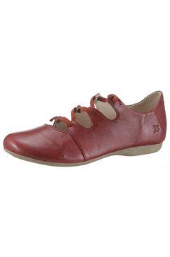 josef seibel ballerina's met riempje »fiona« rood