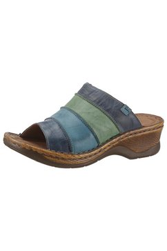 josef seibel slippers »catalonia« blauw
