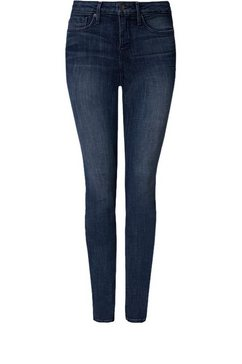 nydj ami skinny »in crosshatch denim« blauw
