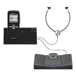grundig dictafoon- en weergavesysteem »digta 7 stand-alone kit... zwart