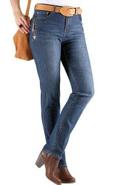casual looks 5-pocketsjeans blauw