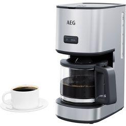 aeg »cm4-1-4st deli 4« filterkoffieapparaat zilver