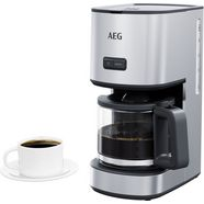 aeg filterkoffieapparaat cm4-1-4st deli 4, 1,5 l zilver