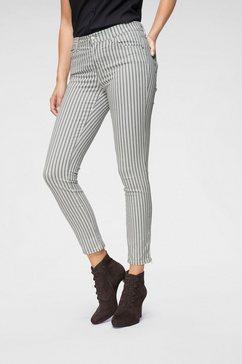angels ankle jeans »skinny ankle stripe« grijs