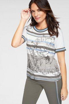 frank walder shirt met print multicolor