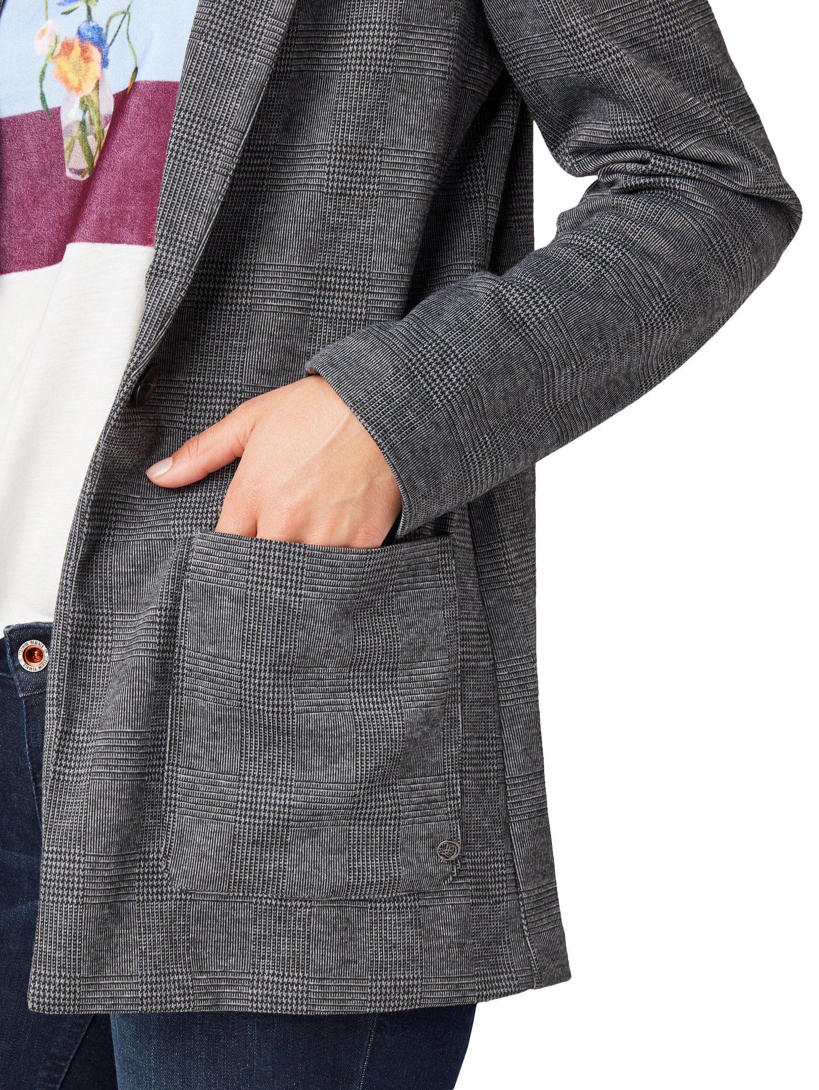 Tom Online Blazer Boyfriendblazer« Bij Lange »geruite Denim Tailor CBWdxoer