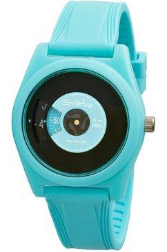 smarty kwartshorloge »turning disc, sw045a10« blauw