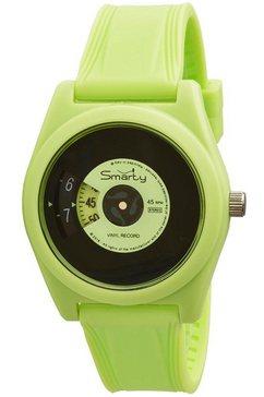 smarty kwartshorloge »turning disc, sw045a07« groen