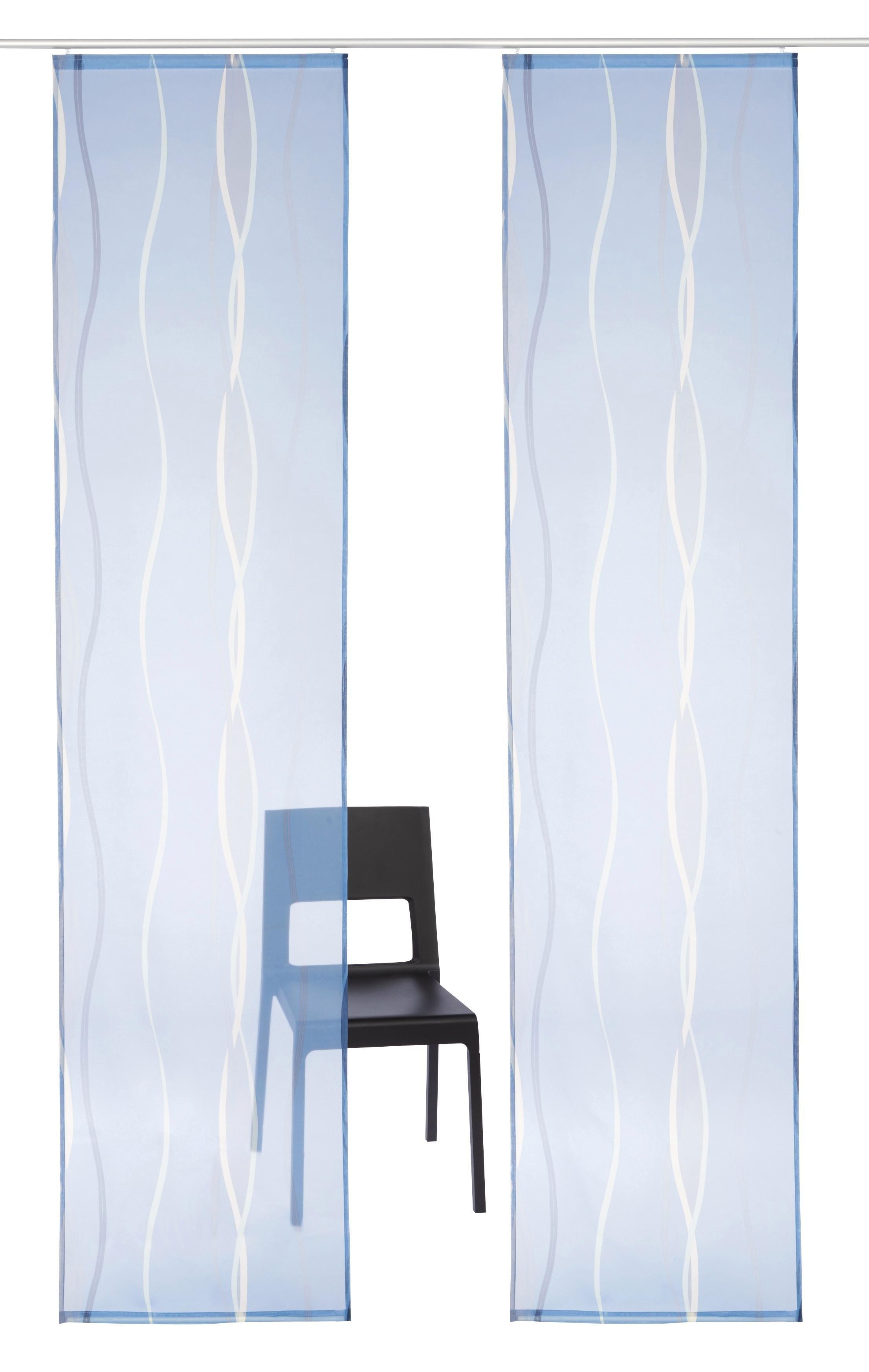 my home Paneelgordijn, »Dimona«, met klittenbandrail (set van 2 met accessoires) bij OTTO online kopen