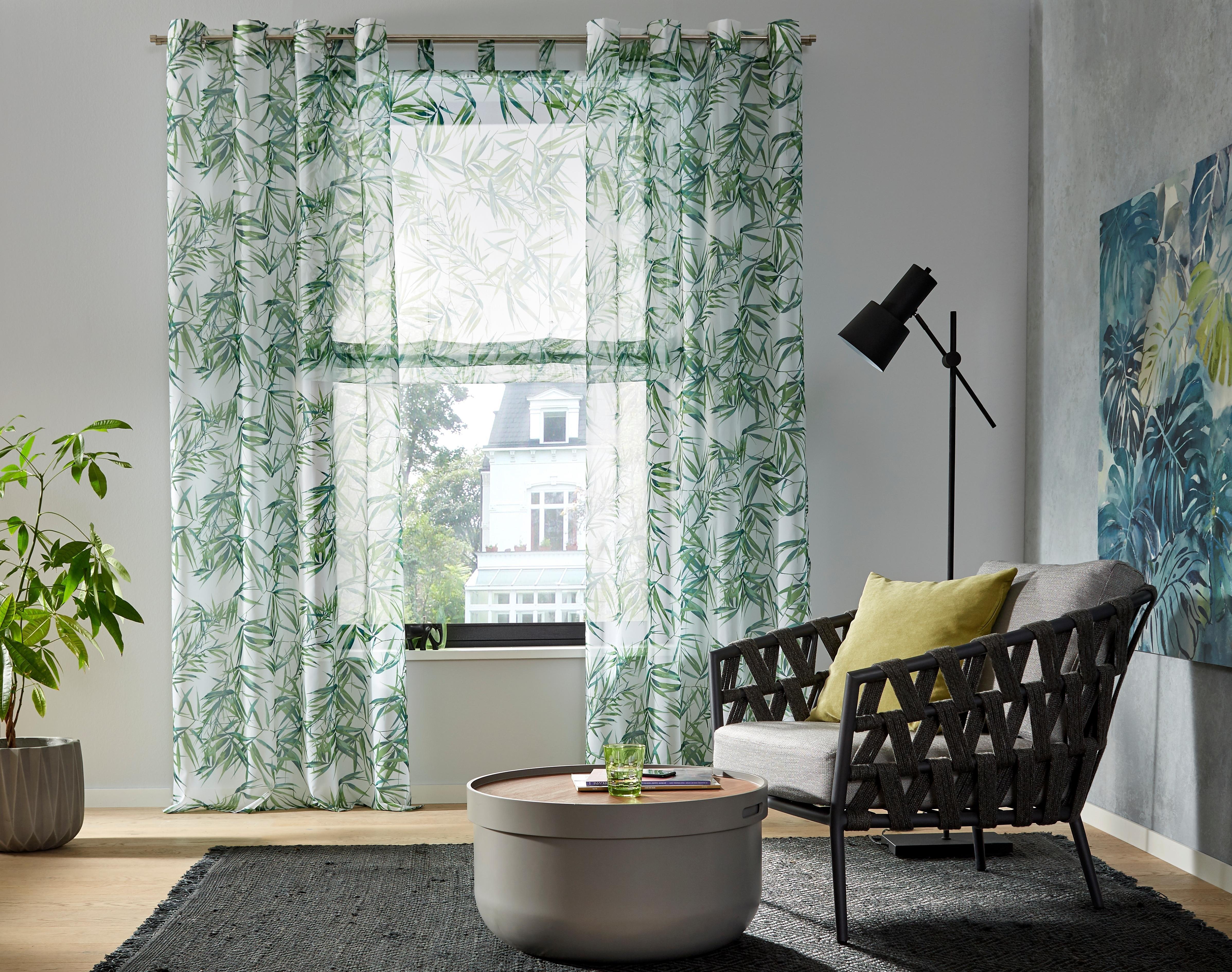 Op zoek naar een My Home Gordijn, »Bambus«, ringen per stuk? Koop online bij OTTO