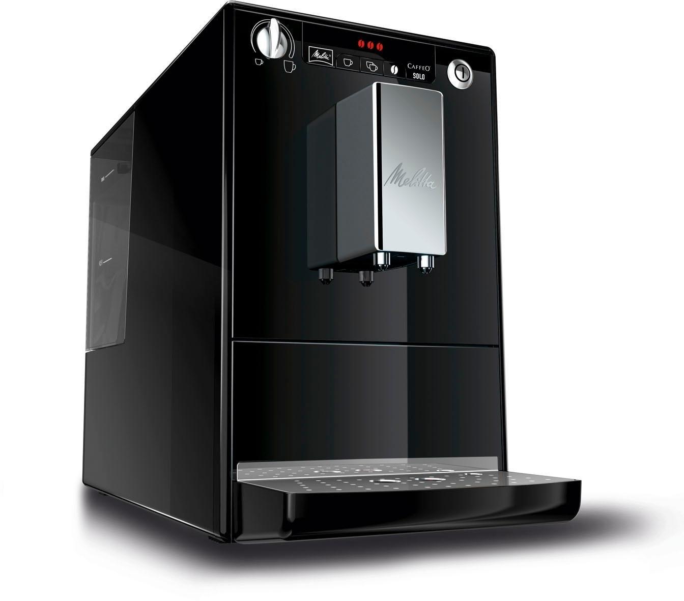 Melitta automatisch koffiezetapparaat CAFFEO® Solo® zwart E 950-101, 1,2 l-reservoir, kegelmaalwerk bij OTTO online kopen