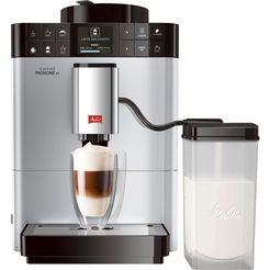 melitta automatisch koffiezetapparaat caffeo passione ot f53-1-101, 1,2-l-reservour, kegelmaalwerk zilver