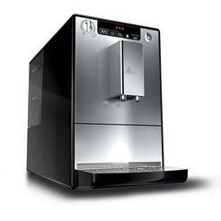 melitta automatisch koffiezetapparaat caffeo solo zwart-zilverkleur, e 950-103, 1,2 l-reservoir zwart