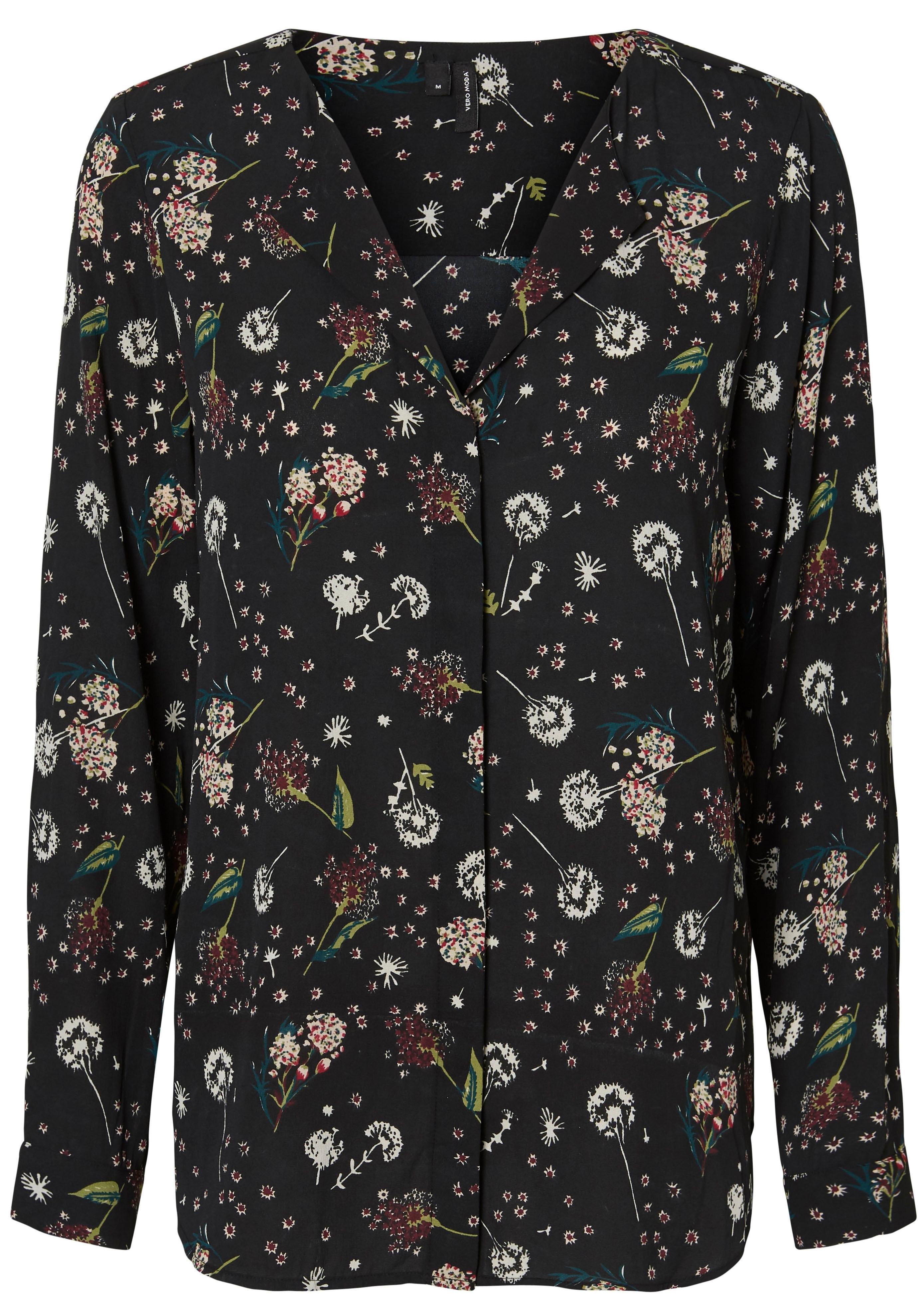 VERO MODA gedessineerde blouse »GRACE« nu online bestellen