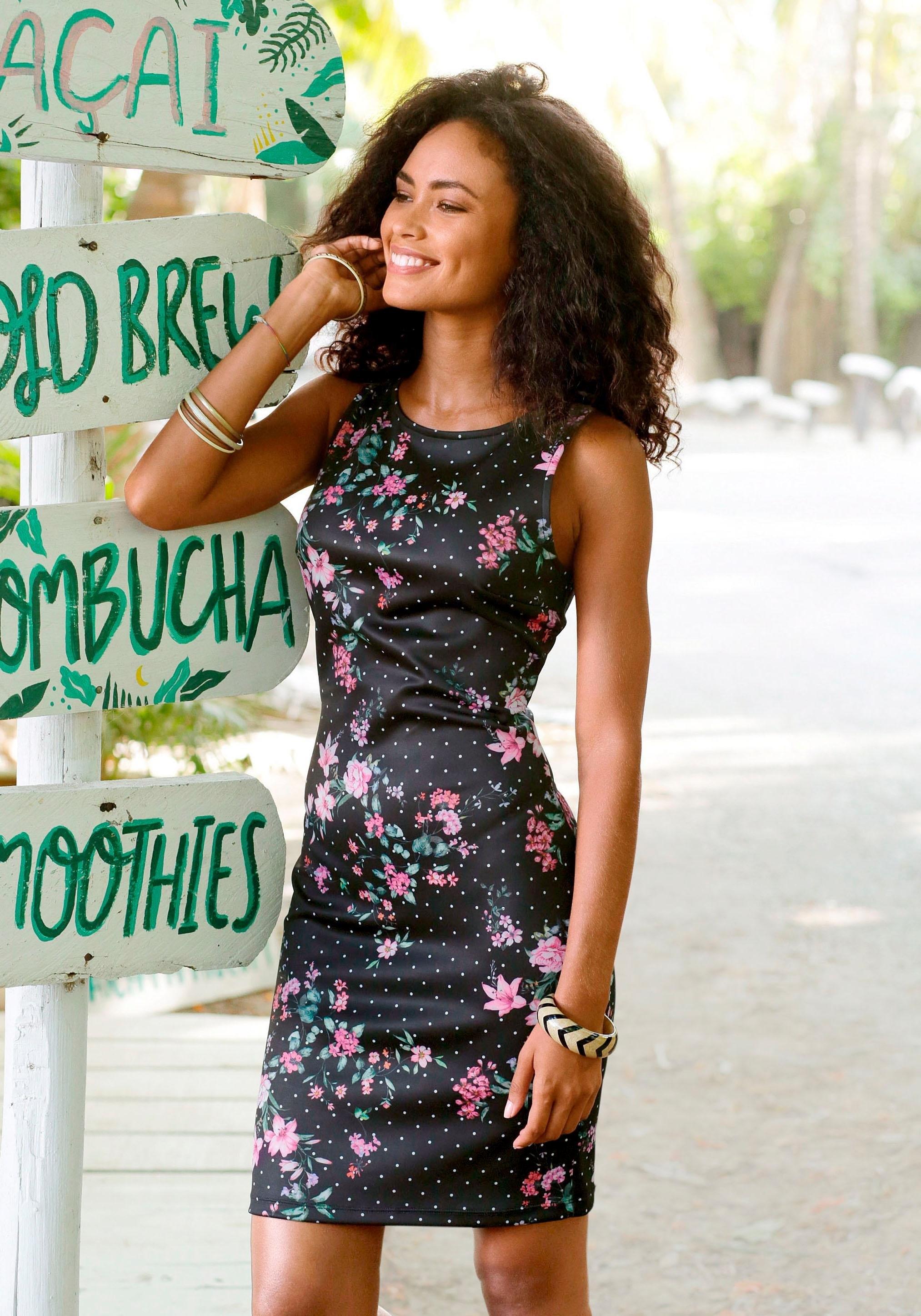 jurk Lascana Scuba Model Makkelijk Besteld In Smal dtshQrC
