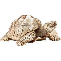 kare design dierfiguur turtle goud