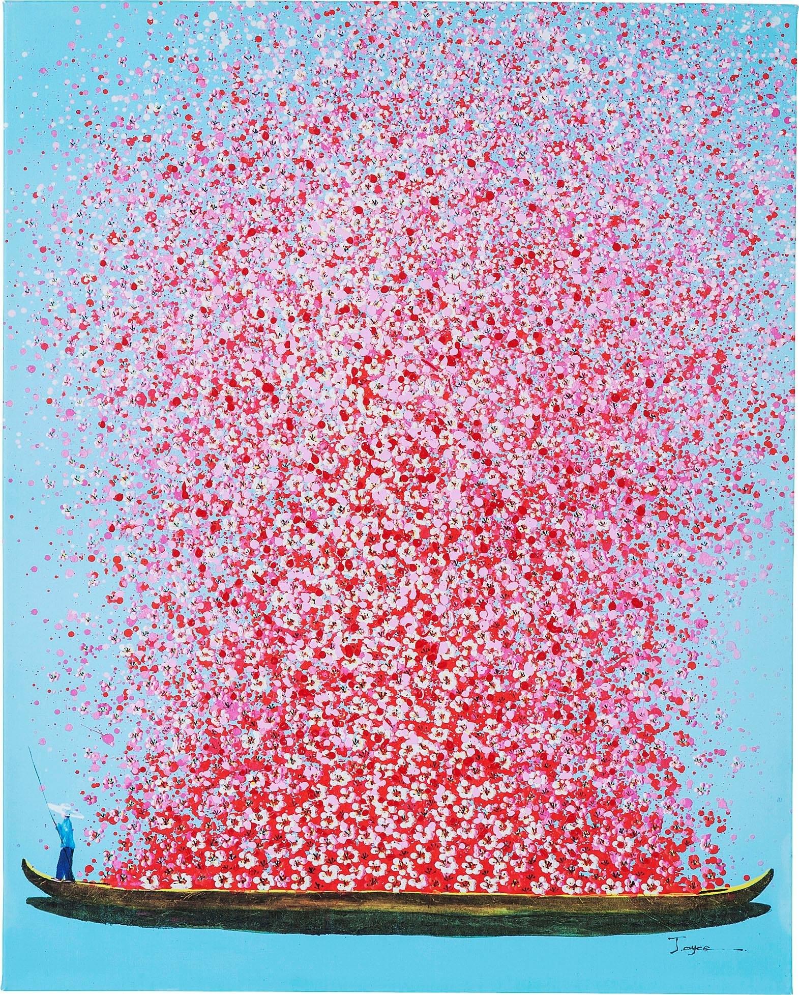 KARE artprint op linnen »Flower Boat« bij OTTO online kopen