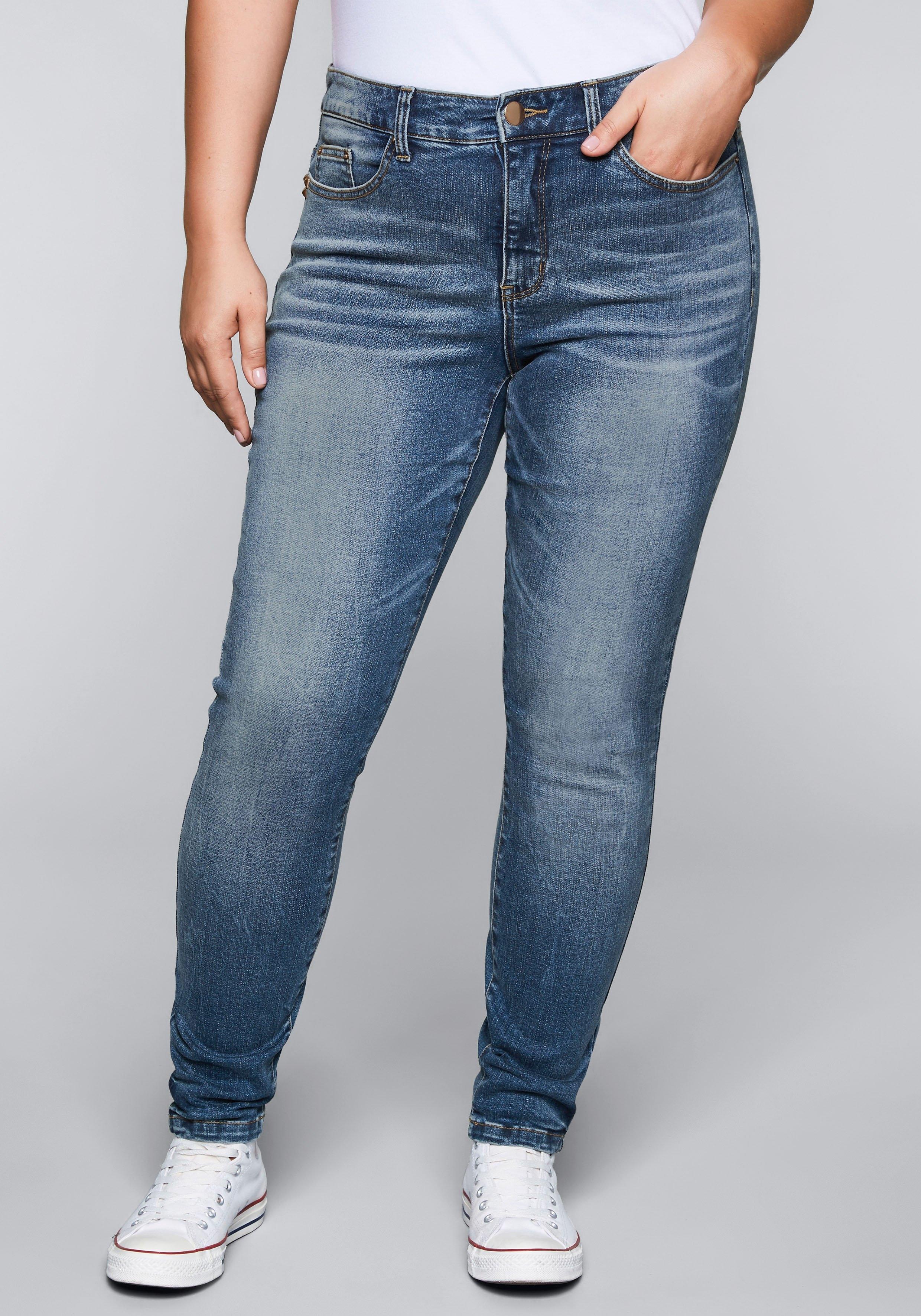 Sheego Denim stretch jeans nu online bestellen