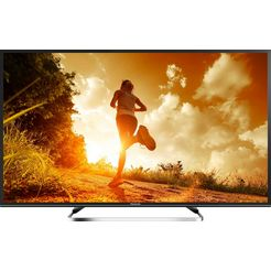 panasonic tx-43fsw504s led-tv (43 inch), full hd, smart-tv zilver