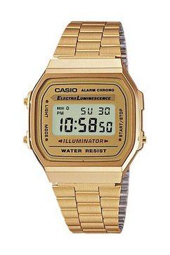 casio vintage chronograaf »a168wg-9ef« goud