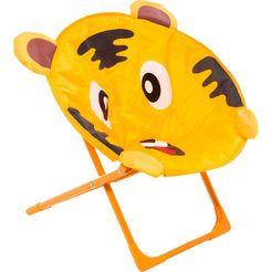 kayoom stoel benjamin tiger ( 1 stuk) oranje