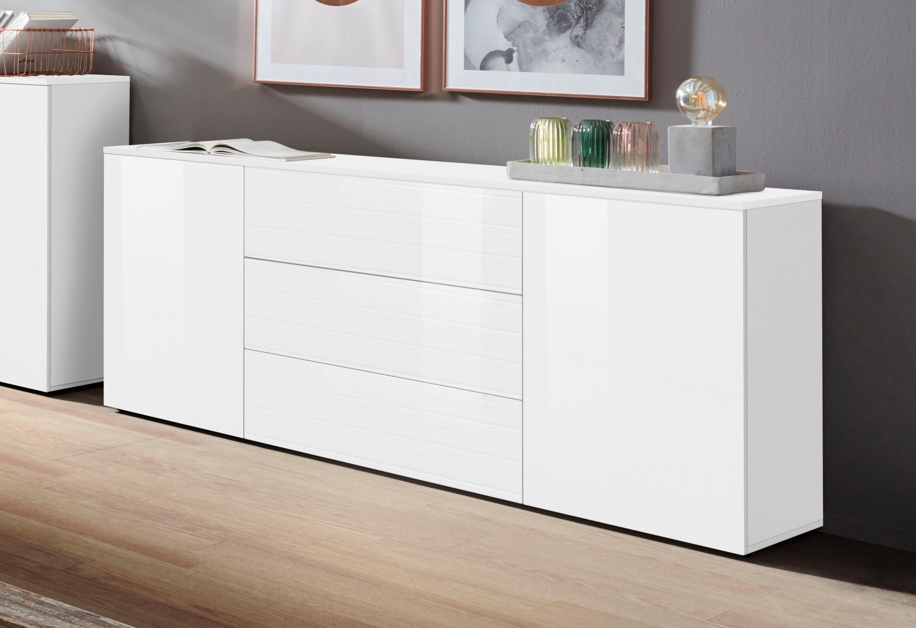borchardt Möbel dressoir Savannah Breedte 166 cm nu online kopen bij OTTO