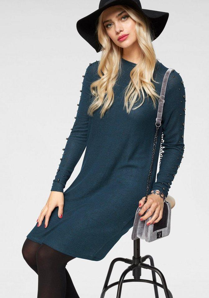 Vero Moda tricotjurk ROYANNA blauw