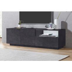 tecnos tv-meubel »vega« grijs