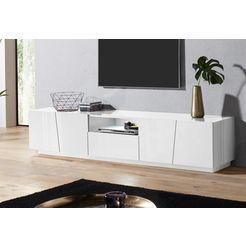 tecnos tv-meubel »vega«, breedte 220 cm wit