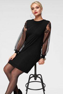 only kanten jurk »viktoria« zwart