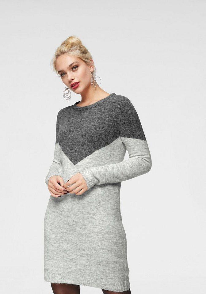 Vero Moda tricotjurk JUTA grijs