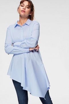 b.young lange blouse blauw