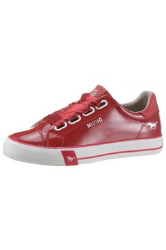 mustang shoes sneakers rood