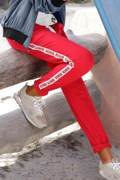 bench. sweatbroek rood