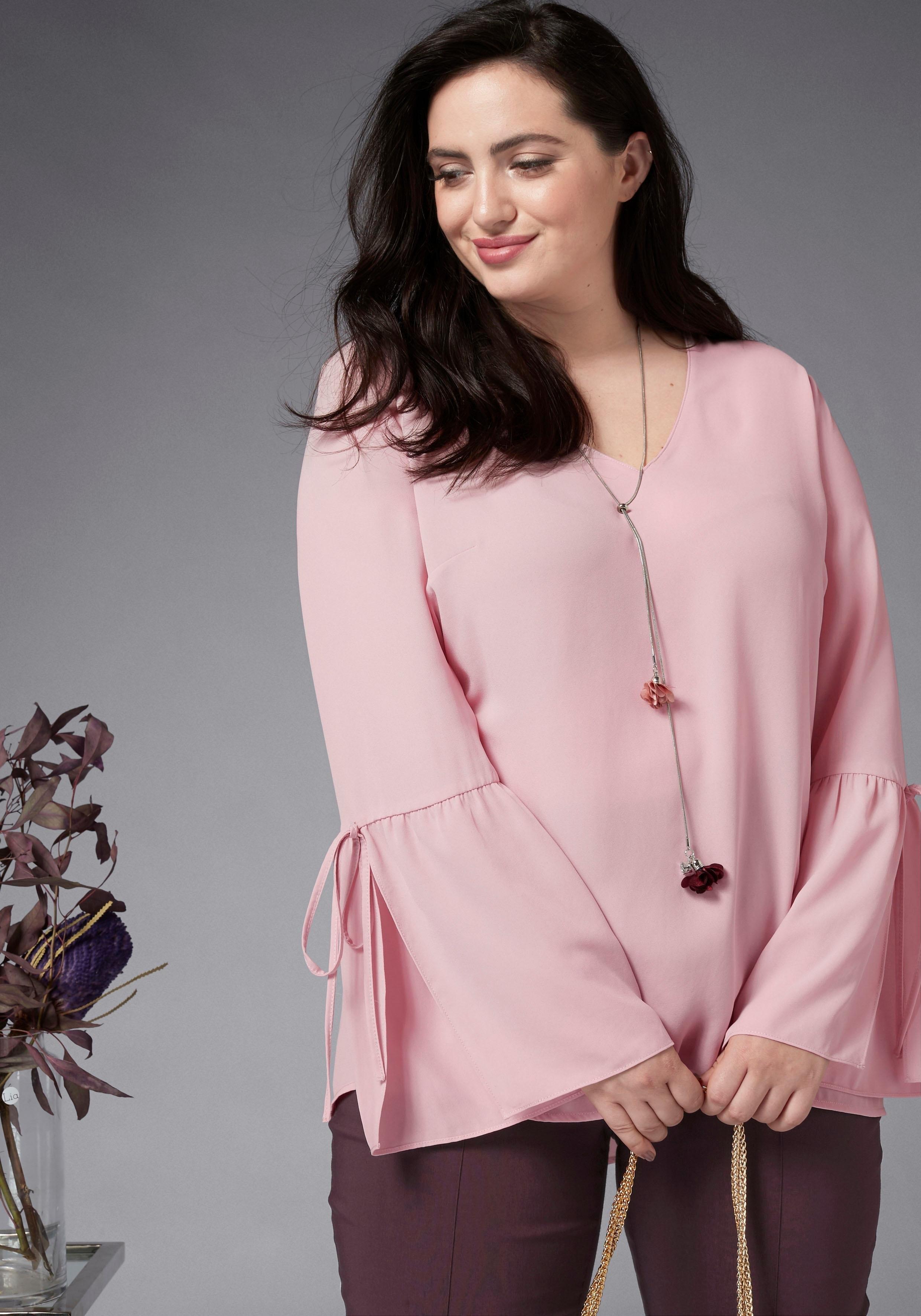 Gmk Curvy Collection blouse zonder sluiting veilig op otto.nl kopen