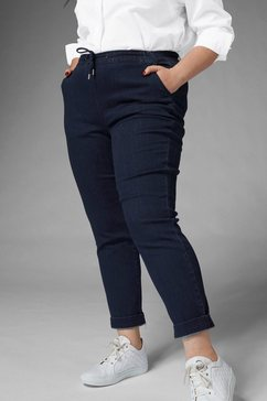 gmk curvy collection comfortabele jeans blauw