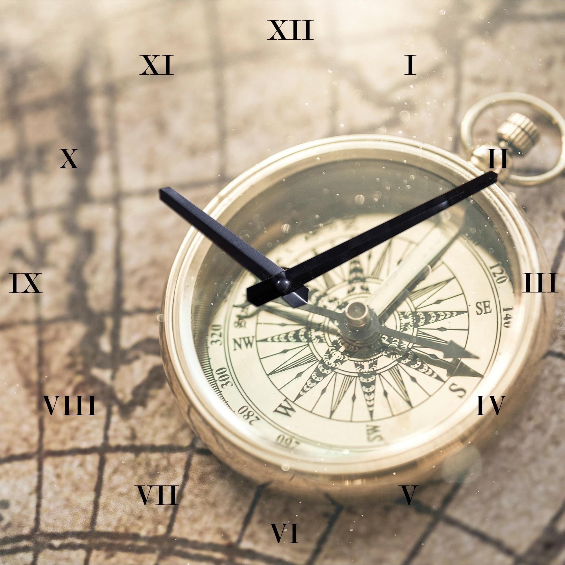 wandklok »Kompass« bij OTTO online kopen