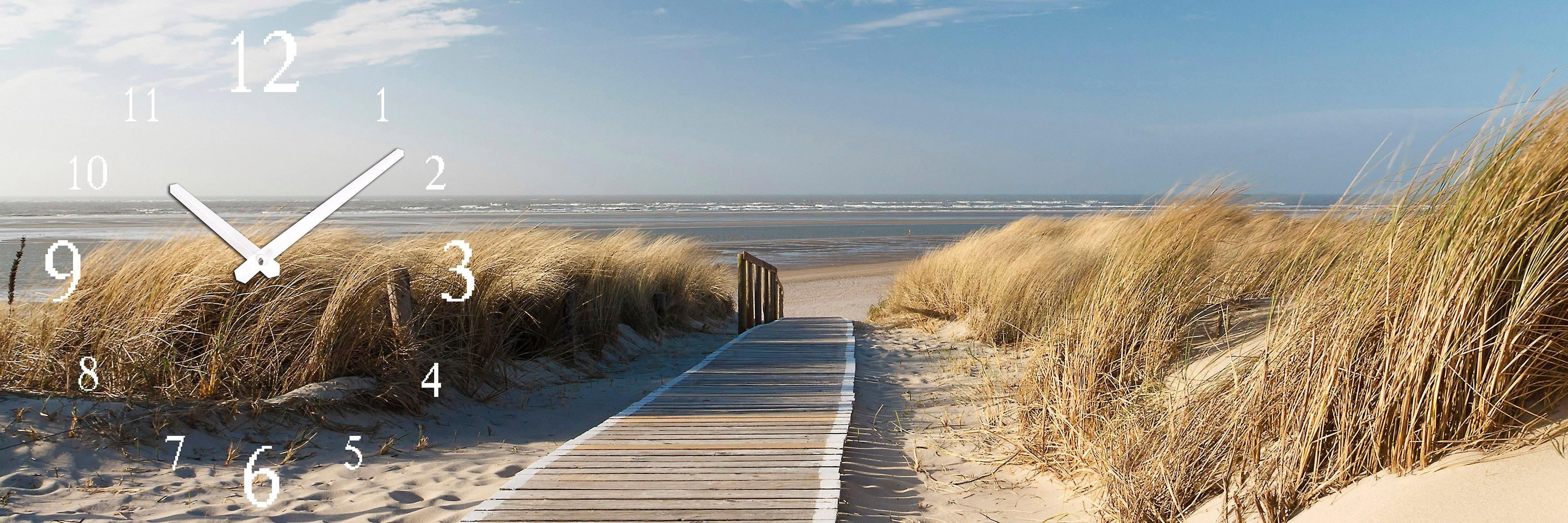 wandklok »Strandweg« veilig op otto.nl kopen