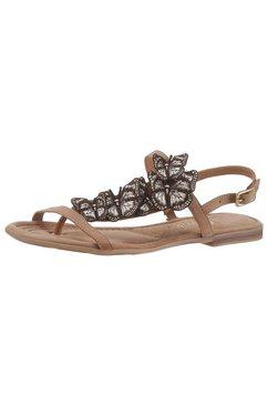 s.oliver red label sandalen bruin